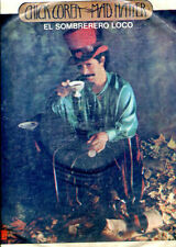 CHICK COREA EL SOMBRERERO LOCO Uruguay 1978 LP