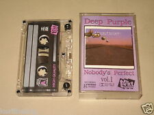 DEEP PURPLE - Nobody's Perfect vol.1 - MC Cassette tape /1861