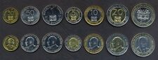 KENYA COMPLETE COIN SET 50+50 Cents +1+5+10+20+40 Shillings 1997-2010 UNC LOT 7