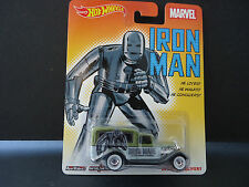 Hot Wheels Dodge Delivery 1934 Iron Man 1/64