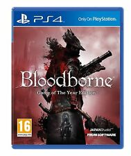 Bloodborne-Game of the Year (PLAYSTATION 4) Nuovo e Sigillato