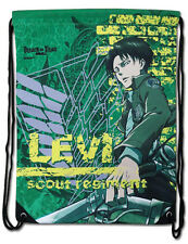 *NEW* Attack on Titan: Levi Green Drawstring Bag by GE Animation