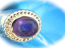 STERLING SILVER Ecclissi Sterling Silver Domed Amethyst Ring Size 9