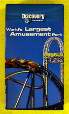 World's Largest Amusement Park ~ Discovery Channel VHS Movie Video ~ Cedar Point