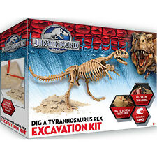 New Jurassic World Dig A Tyrannosaurus Rex Excavation Kit T-Rex Jurassic Park 7+