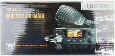 New Uniden PRO505XL Bearcat Compact CB Radio with connection for PA speaker