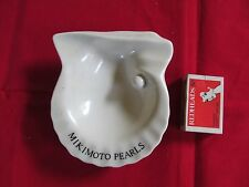Vintage Advertising Dish for Mikimoto Pearls in Shell Shape Jewellery