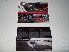 DODGE CHALLENGER SRT brochure catalogue version spéciale import Europe 2014