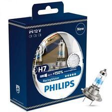 2 AMPOULES H7 +150% PHILIPS Racing Vision ( superieur au XTREME VISION +130% )