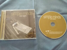 SIMPLE MINDS NEON LIGHTS CD EAGLE RECORDS 2001 USA EDITION