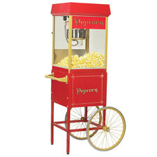 Gold Medal 2408 FunPop Popcorn Popper Machine with Cart 2689CR