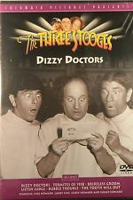 The THREE STOOGES DIZZY DOCTORS 6 Features Termites of 1938 Bubble Trouble