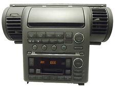 03 04 INIFNITY G-35 Satellite Radio 6 Disc Changer Tape Cassette CD Player OEM