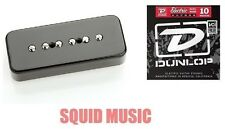 Seymour Duncan Vintage P-90 In Black SP90-1n Neck Soapbar ( 1 SET OF STRINGS )