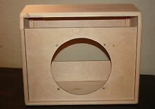 rawcabs 1x12 pine unload Princeton Reverb combo cabinet