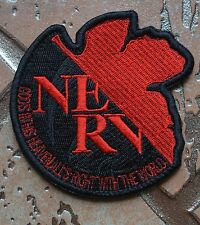 Neon Genesis Evangelion EVA Nerv Uniform Embroidered Patch High quality(9x9cm)
