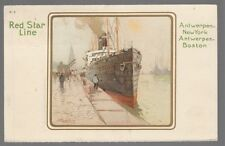 [53413] OLD CASSIERS POSTCARD RED STAR LINE B-2
