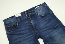 Neu - Hugo Boss  BLACK - Wyoming - W33 L34  Blue Denim Jeans  Regular Fit  33/34