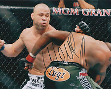 Wanderlei SILVA Signed 10x8 Autograph Photo AFTAL COA MMA Grand Prix Champion