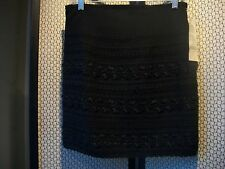 CYNTHIA STEFFE, USA Ladies Sz 10 NWT $149.99 SHORT Sexy Dressy SKIRT Black