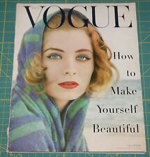 May Vogue 1955 Rare Vintage Vanity Fair Fashion Design Collection Magazine