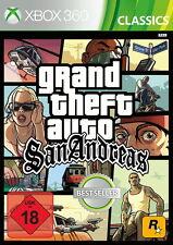 XBOX 360 gioco: GTA San Andreas HD Classics nuovo & OVP