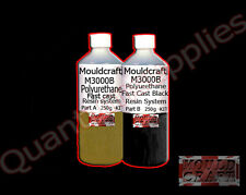 MOULDCRAFT A3000B 500g BLACK FAST CAST Polyurethane Liquid Plastic casting Resin