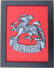 Large Scale HKMSC HONG KONG Badge Plaque