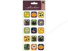 Sticko Dimensional Stickers - Halloween Buttons