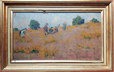 """Alfred Rasenberger 1885 - 1945  """"Sommertag in der Heide"""" düsseldorf"""