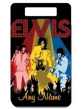 Personalized ELVIS BAG TAG For Luggage Bags Backpacks 2 Sides Printed