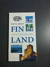 Facts About Finland Science Culture Industry History Color Paperback 2000