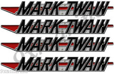 Mark Twain Boat Company Remastered 4 pc Decal Set