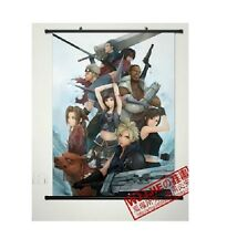 Cloud Strife Final Fantasy VII 7 Home Decor Japanese Wall poster Scroll Anime Ar