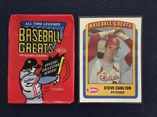 Steve Carlton HOF  1990 Swell Baseball Greats #110  MINT  Pack Fresh!