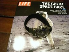 NASA Nato ® Velcro Replica Strap Omega Speedmaster, Bulova Moon Watch S/N 1076