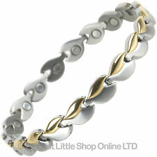 NEW Ladies TITANIUM Magnetic Bracelet Magnets Health
