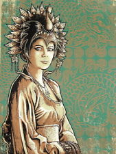 Godmachine – Big Trouble in Little China (Gracie) Print Poster