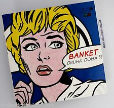 ORIGINAL ROY LICHTENSTEIN ART COVER DRUHA DOBA VINYL LP RECORD N.MINT RARE