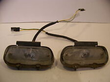 1965 PLYMOUTH SATELLITE FRONT BUMPER TURN SIGNALS COMPLETE OEM BELVEDERE