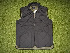 $150. Men's Black Quilted Vest (S) J. CREW