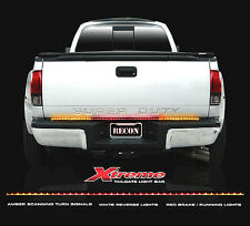 "RECON 60"" EXTREME SCANNING AMBER, RED, & WHITE LED TAILGATE BAR  PART# 26416X"