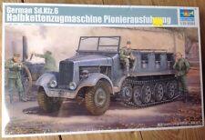 Trumpeter 1/35 Sd.Kfz.6 Pioneer Wersion German half-track model kit new 5530