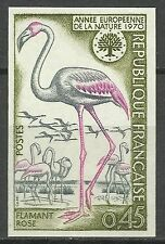 France Oiseaux Flamant Flamingo Birds Vögel Non Dentele Imperf Proof ** 1970