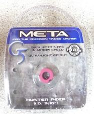 1057 G5 New Meta Bow Peep Hunter 3/16 Pink 259