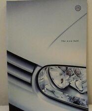 Volkswagen VW Golf MK4 UK Sales Brochure Dated 1998 Includes GTI & V5