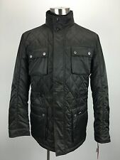 NWT HAWKE & CO MENS QUILTED GREEN COAT JACKET SIZE LARGE $169.99 RTL