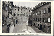 1940 - Siena - Piazza Salimbeni, Monte dei Paschi