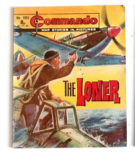 DC Thompson 1970's Early Commando Comic Book no.1051, War Military Army