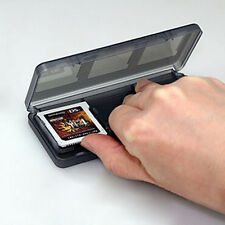 Practical 6-in-1 Black Game Card Case Holder For 3DS LL Storage Case Box